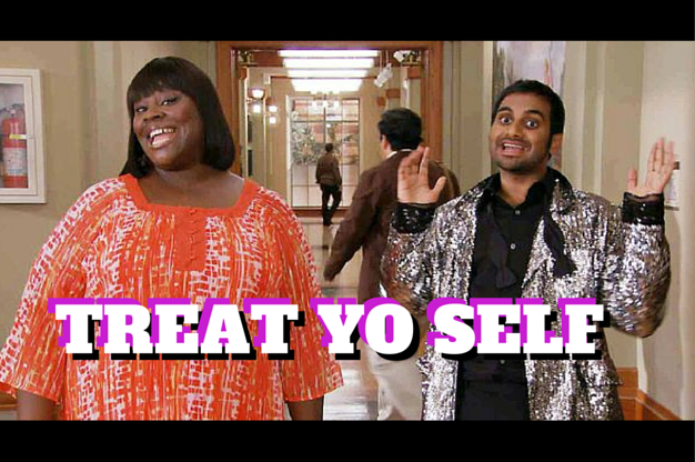 Embrace self-promotion 6 Easy steps: Treat Yo Self