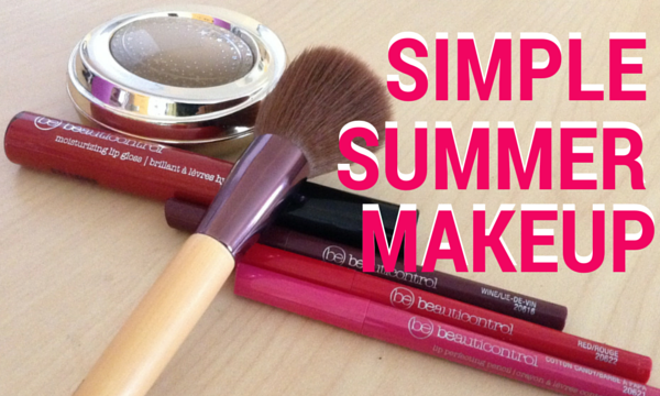 simple summer makeup